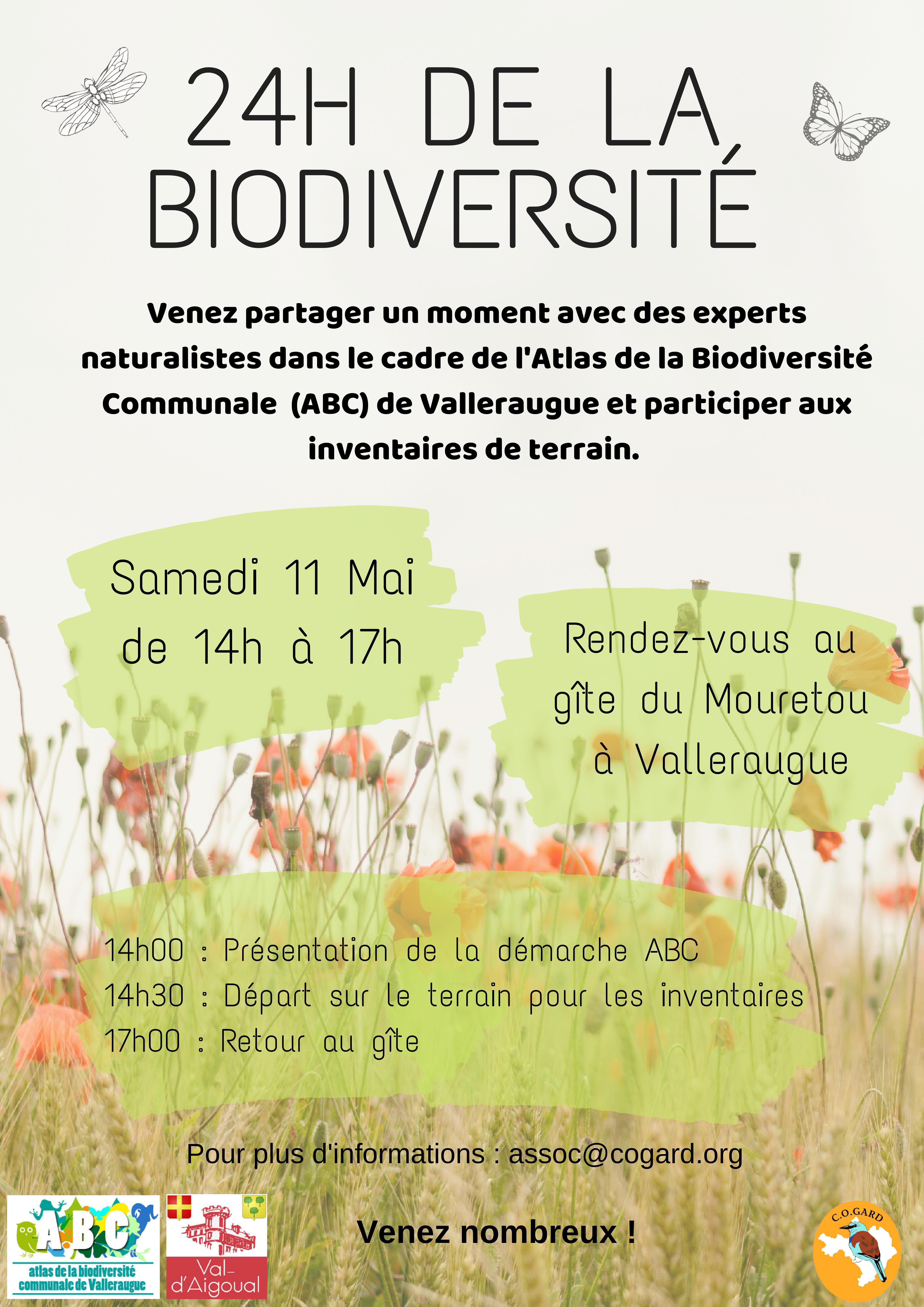 Week-end naturaliste à Valleraugue