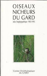 Atlas des oiseaux nicheurs du Gard de 1993
