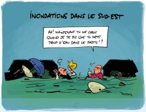 humour inondation