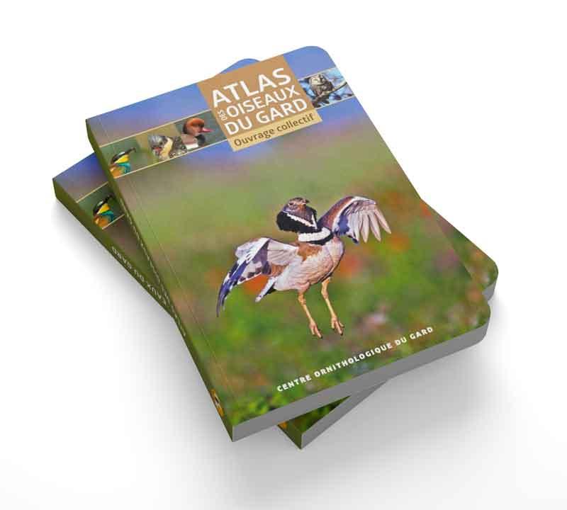 livre atlas des oiseaux du Gard