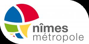 Logo Nimes metropole RVB fond